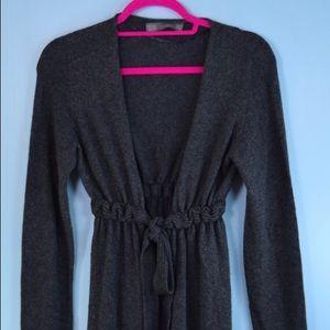 ZARA gray soft cardigan jacket Medium